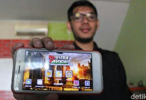 Bela Palestina lewat Game Online