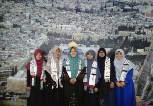 Semangat Juang Bebaskan Palestina Milik Mahasiswa-mahasiswi Asal Jawa Timur1