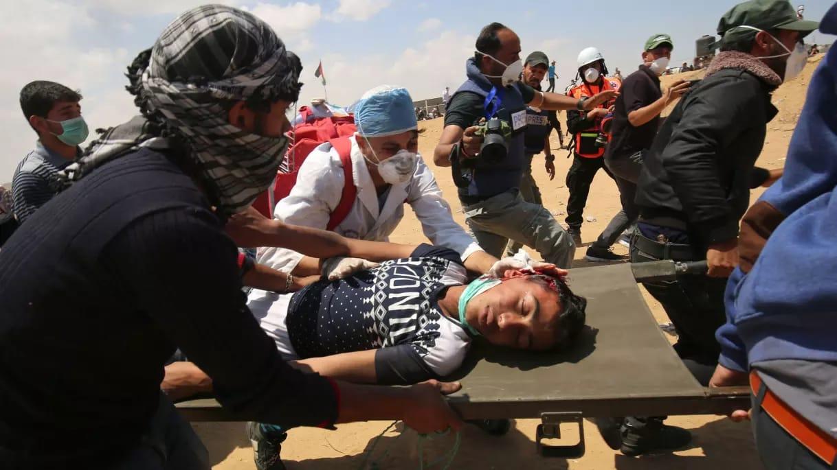 Jumlah korban Warga Gaza dalam Perjuangan menembus Blokade