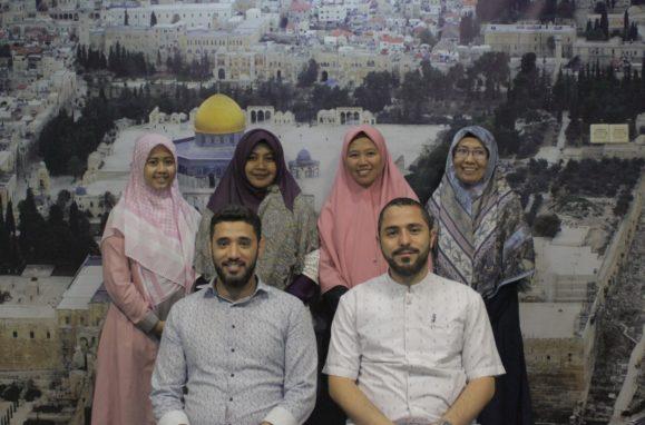 Adara kedatangan   Tamu Lembaga Tahfidz Al-Quran Asy Syathibi Palestina