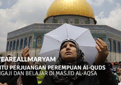 Bantu Perjuangan Perempuan Al-Quds