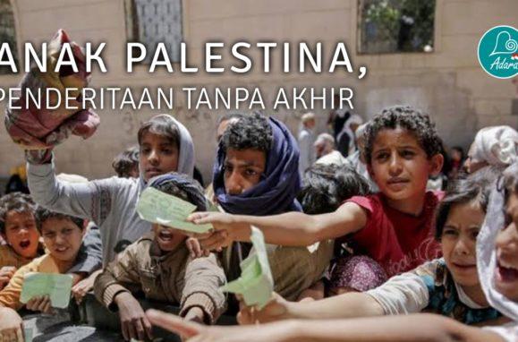 Anak Palestina, Penderitaan Tanpa Akhir